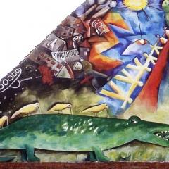 2000_Schule H.:Krokodil