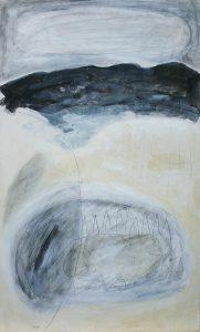 Gilfert, 2011, Acryl/Graphit/Kohle/Schellack auf MDF, 50 x 30 cm
