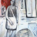 burn / unterwegs, 2011, Acryl auf Leinwand, 150 x 100 cm