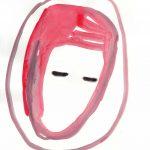 Lo specchio del passato 2, 2013, Aquarell auf Papier, 30 x 21 cm